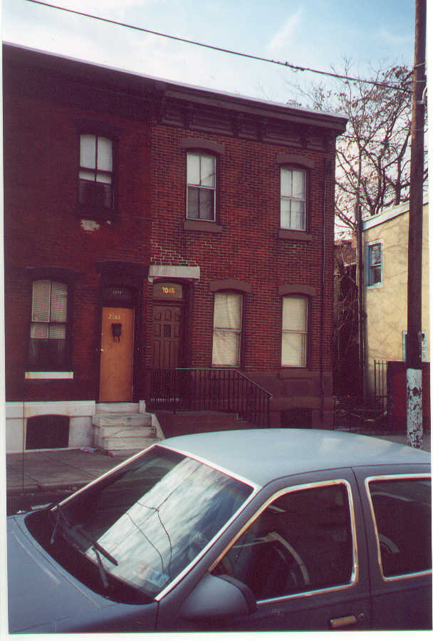 Ancestor House Tour Philadelphia December 29 2001